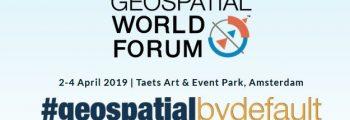 Getting ready for Geospatial World Forum